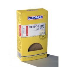 Сахар свекольный нерафинорованный рассыпной, 500 гр., тм. Солодко.