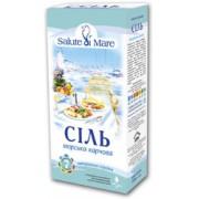 Соль морская средняя, 750 гр., тм. Salute di Mare.